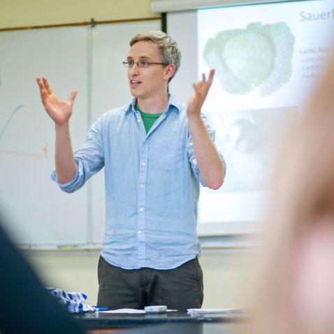 David Coffey teaching