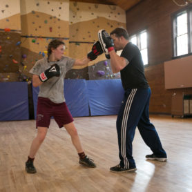 Jay Miller boxing student