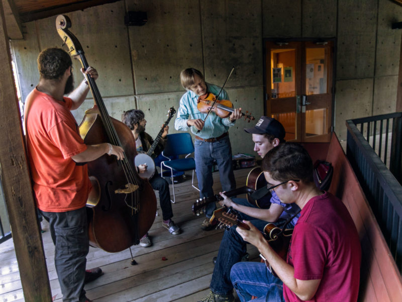 Appalachian jam session