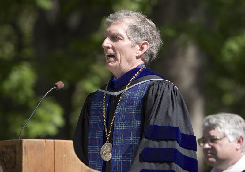 Doug Orr at 2006 Commencement