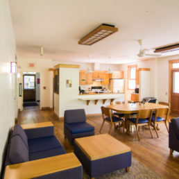 ANTC common room and kitchen