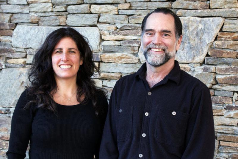 Julie Caro and Paul Bartels