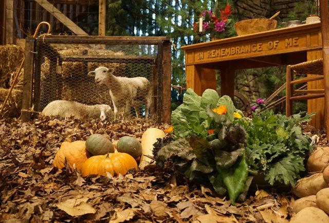 Chapel Harvest Display