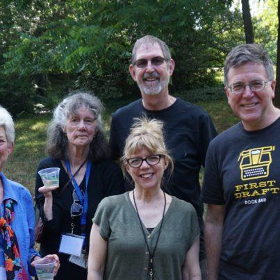 Ellen Bryant Voigt with former MFA directors