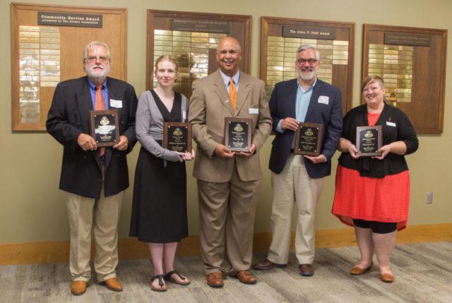 2017 Alumni Award winners